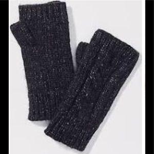 LOFT Fingerless Knit Gloves For Women